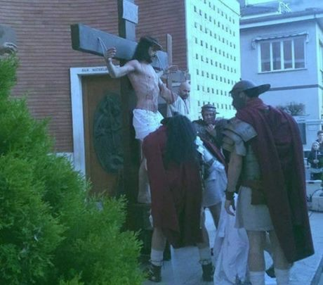 Bracciano, la Passione di Cristo