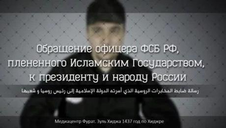 Isis minaccia Putin in video e mostra decapitazione colonnello