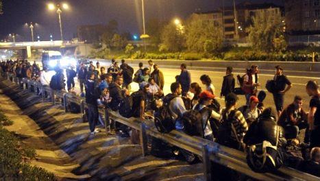 Ventimiglia. La fuga dei migranti dopo lo sgombero