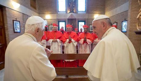 benedetto XVI e Bergoglio
