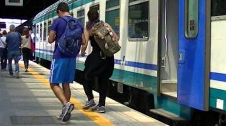 treno senza green pass