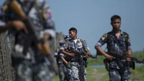 Birmania, l'esercito fa fuoco contro i civili Rohingya in fuga