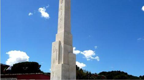 Fiano per abrasione scritta Dux da obelisco: così riparte legge su apologia