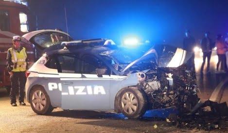 Incidente a Ravenna. Morti i poliziotti Pietro Pezzi e Nicoletta Missiroli