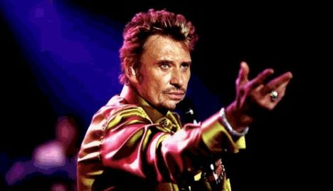 La musica piange Johnny Hallyday