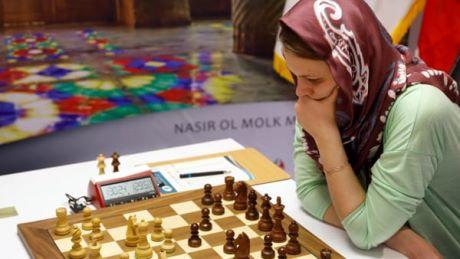 Campionessa di scacchi boicotta Riad: