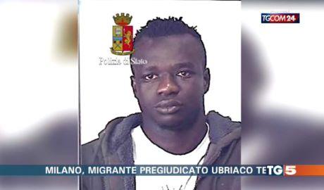 Migrante pregiudicato e ubriaco tenta di stuprare madre e figlia