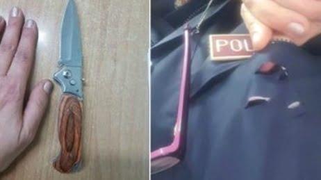 Taranto - Poliziotta salvata dal telefonino, viva per miracolo