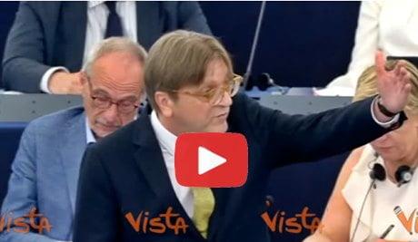 "UE, Guy Verhofstadt: ""Salvini ragazza pon pon di Putin"" - Imola Oggi"
