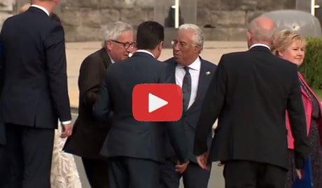 Juncker Completamente Ubriaco Al Vertice Nato Due Persone Per Sostenerlo Imola Oggi