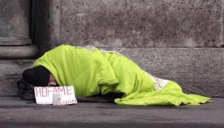 senzatetto italiano