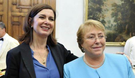 Bachelet e Laura Boldrini