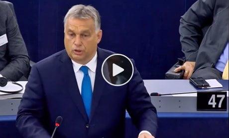 Il discorso di viktor orban al parlamento europeo imola oggi for Votazioni parlamento oggi