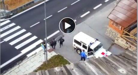 Matteo Salvini contro la polizia francese