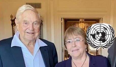 onu Bachelet e Soros