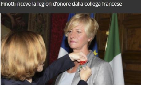 Schiere di legionari onorari francesi in italia quante for Elenco politici italiani