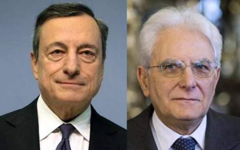 Mario Draghi Mattarella