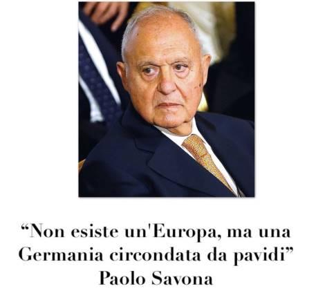 paolo savona europa