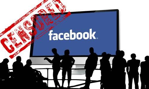 facebook censurati
