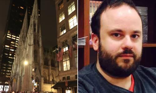 Uomo con taniche benzina a cattedrale NY, arrestato