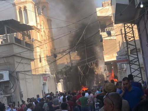 Siria: autobomba vicino a una chiesa, vittime