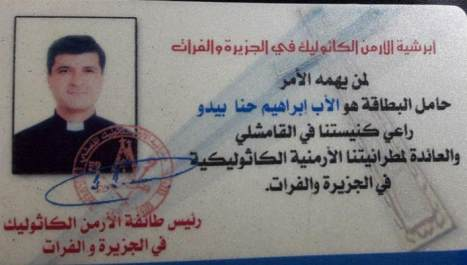 Attentato Isis in Siria, uccisi due preti armeni
