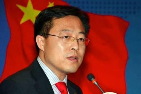 zhao Lijian oms Cina
