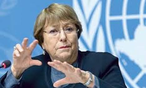Bachelet onu contro israele