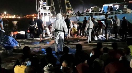 sbarcano a Lampedusa