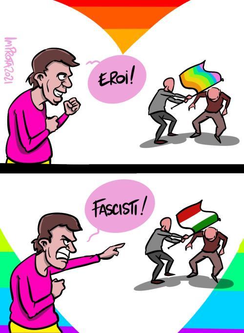 Mario Improta vignetta
