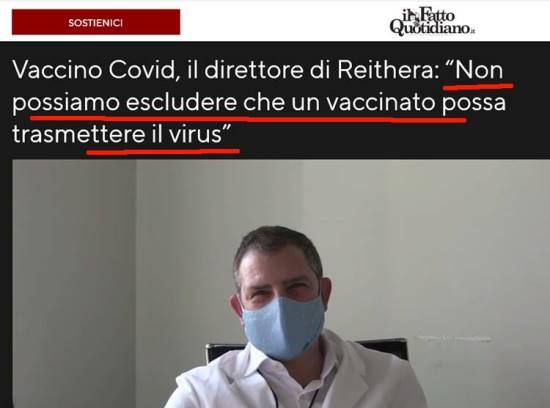 vaccini a mrna contagi