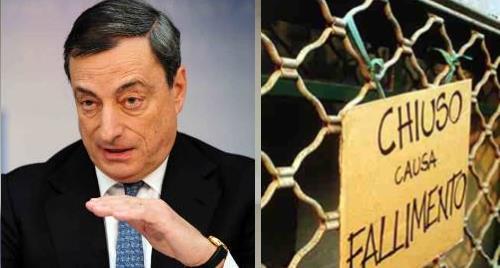 Draghi attività commerciali