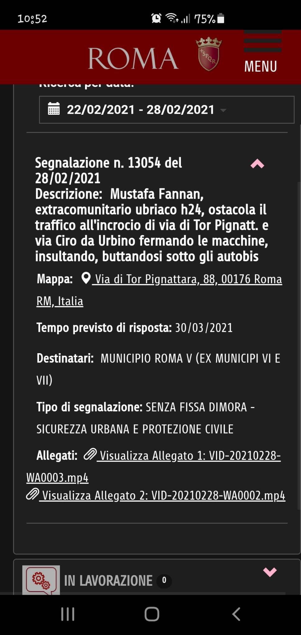 Roma Tor Pignattare
