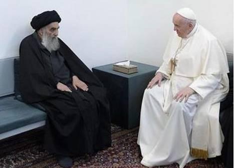 Al-Sistani e Bergoglio