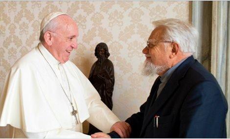 Enzo Bianchi Bergoglio