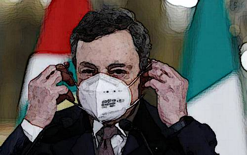Mario Draghi Italia al collasso