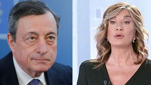 Maio Draghi Myrta Merlino