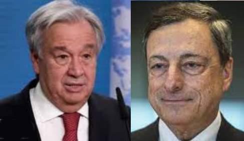 Guterres Draghi vertice sistemi alimentari