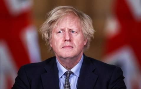 Johnson covid in GB