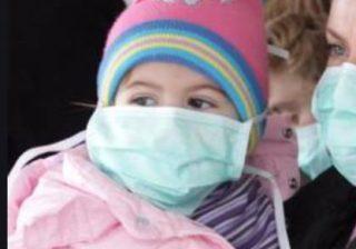 mascherine chirurgiche a bambini
