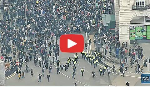 proteste contro il lockdown