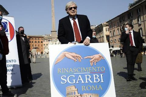 VITTORIO SGARBI ROMA