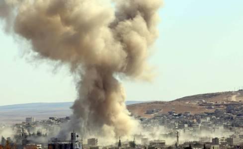bombardamenti usa siria