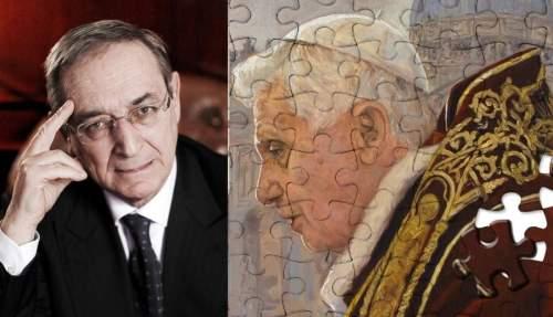 Avvocato Taormina e Benedetto XVI