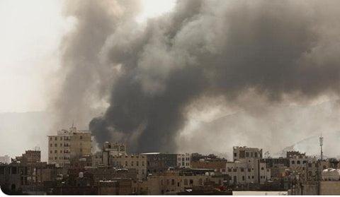 raid sauditi yemen