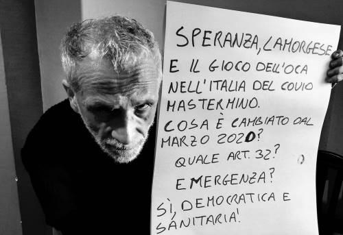 Giornalista Maurizio Bolognetti emergenza sanitaria