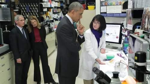 Fauci Obama