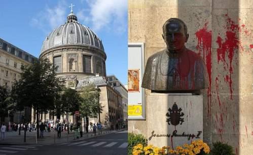 statua Giovanni Paolo II