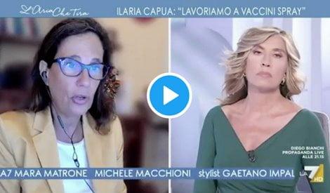 Ilaria Capua vaccinare