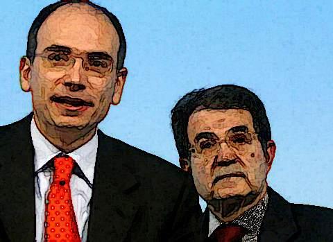 Enrico Letta Romano Prodi